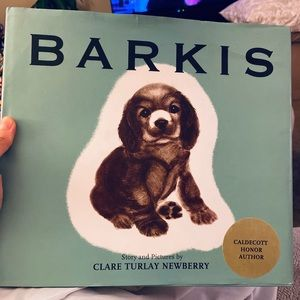 Caldecott winning children's book Barkis Hardcover